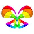 Abstract colorful butterfly Royalty Free Stock Photo