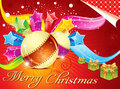 Abstract colorful christmas background Stock Images