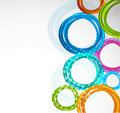 Abstract colorful circle Stock Image