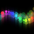 Abstract colorful circle Royalty Free Stock Photo