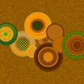 Abstract colorful circles Stock Images