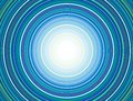 Concentric Circles Pattern, Blue Royalty Free Stock Photo