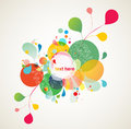 Abstract colorful design Royalty Free Stock Image