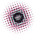 Abstract colorful dots halftone vector background Royalty Free Stock Photo