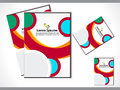 Abstract colorful flayer Royalty Free Stock Photos