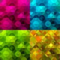 Abstract colorful geometric background vector illustration Royalty Free Stock Images