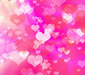 Abstract colorful heart shape background Royalty Free Stock Photography