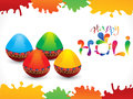 Abstract colorful holi gulal