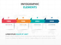 Abstract colorful label business timeline Infographics elements, presentation template flat design vector illustration for web