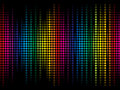 Abstract colorful rainbow sparkle dots background Royalty Free Stock Photo