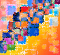 Abstract colorful rough paper texture Royalty Free Stock Images