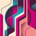 Abstract colorful shapes. Stock Images
