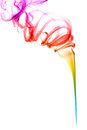 Abstract colorful smoke Stock Photos