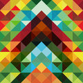Abstract colorful triangle pattern background Royalty Free Stock Images