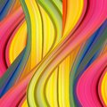Abstract colorful vector background, color flow liquid wave for design brochure, website, flyer. Stream fluid. Acrylic paint. EPS