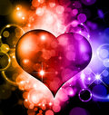 Abstract ColorfulAbstract Colorful Heart Stock Image