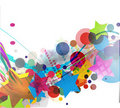 Abstract colourful backgroung Royalty Free Stock Photos
