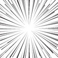 Abstract comic book flash explosion radial lines background. Royalty Free Stock Photo