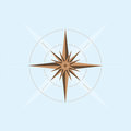 Abstract compass design Royalty Free Stock Photo
