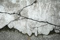 Abstract concrete floor background with cracks Royalty Free Stock Photography