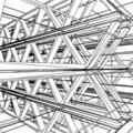 Abstract Constructions Vector 1421 Royalty Free Stock Image