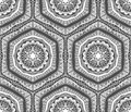 Abstract Contrast Tribal Pattern