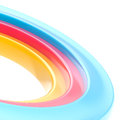 Abstract copyspace torus background Stock Photo