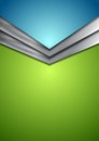 Abstract corporate modern background with arrow Royalty Free Stock Photo