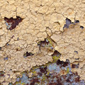 Abstract corroded colorful wallpaper grunge background iron rusty artistic wall peeling paint Royalty Free Stock Photo