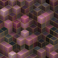 Abstract cubes seamless background backgrounds with Stock Image