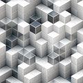 Abstract cubic backgrounds Royalty Free Stock Photo