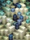 Abstract cubic backgrounds for your design Stock Images