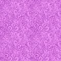 Abstract curly shapes vector seamless pattern violet variant Stock Photos