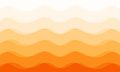 Abstract curve orange tone background