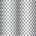 Abstract curved grid vector background pattern., in a black and white palette. Royalty Free Stock Photo