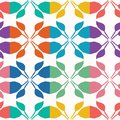 Abstract cut out leaf shapes. Vector pattern seamless background. Hand drawn matisse style collage damask illustration