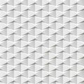 Abstract 3d white geometric background. White seamless texture with shadow. Simple clean white background texture. 3D interior wal Royalty Free Stock Photo