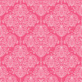 Abstract damask swirls seamless pattern background
