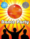 Abstract dance party design Royalty Free Stock Photo
