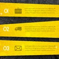 Abstract dark background with yellow lines and stripes style Royalty Free Stock Photo