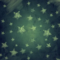 Abstract dark blue background with stars Royalty Free Stock Image