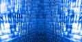 Abstract data bits stream background digital cyber pattern Stock Photo