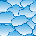 Abstract day clouds background Royalty Free Stock Photo