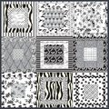 Abstract Decoration In Black And White. Forms And Fantasy