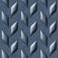 Abstract decorative texture - seamless pattern - blue jeans Royalty Free Stock Photo