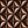 Abstract decorative tiles stacked for seamless background
