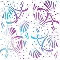 Abstract decorative wallpaper. Modern stylish texture. Seamless pattern. Royalty Free Stock Photo