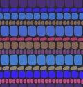 Abstract deep blue seamless pattern  Brickwork Royalty Free Stock Photo