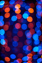 Abstract defocused color lights Stock Photo