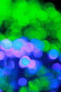 Abstract defocused lights background Royalty Free Stock Photography